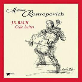 【送料無料】[枚数限定][限定]バッハ:無伴奏チェロ組曲【アナログ盤】【輸入盤】▼/ムスティスラフ・ロストロポーヴィチ[ETC]【返品種別A】