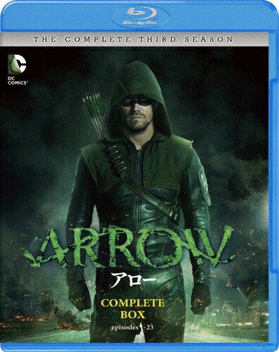【送料無料】ARROW/アロー〈サード・シーズン〉 コンプリート・セット/スティーヴン・アメル[Blu-ray]【返品種別A】