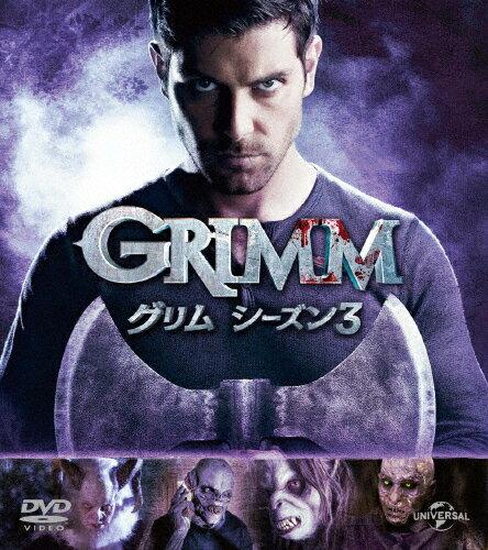 【送料無料】GRIMM/グリム シーズン3 バリューパック/デヴィッド・ジュントーリ[DVD]【返品種別A】