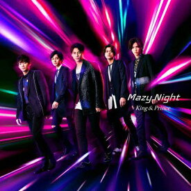 [限定盤][先着特典付]Mazy Night(初回限定盤A)/King & Prince[CD+DVD]【返品種別A】