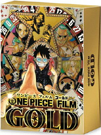 【送料無料】[枚数限定][限定版]ONE PIECE FILM GOLD Blu-ray GOLDEN LIMITED EDITION【初回限定生産】/アニメーション[Blu-ray]【返品種別A】