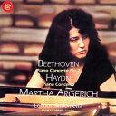 [期間限定][限定盤]ベートーヴェン:ピアノ協奏曲第2番&ハイドン:ピアノ協奏曲/アルゲリッチ(マルタ)[CD]【返品種別A】