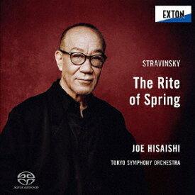 【送料無料】ストラヴィンスキー:バレエ音楽「春の祭典」/久石譲,東京交響楽団[HybridCD]【返品種別A】