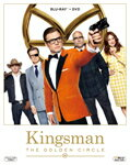 【送料無料】キングスマン:ゴールデン・サークル 2枚組ブルーレイ&DVD/タロン・エガートン[Blu-ray]【返品種別A】