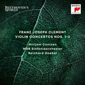 フランツ・クレメント:ヴァイオリン協奏曲第1&2番 ベートーヴェンの世界[1]【輸入盤】▼/ミリヤム・コンツェン[CD]【返品種別A】