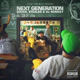 "DREAM TEAM MUSIC Presents""NEXT GENERATION""/SOCKS,STEALER & DJ NONKEY[CD]【返品種別A】"