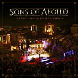 【送料無料】[枚数限定][限定盤]LIVE WITH THE PLOVDIV PSYCHOTIC SYMPHONY(3CD+DVD)【輸入盤】▼/SONS OF APOLLO[CD+DVD]【返品種別A】