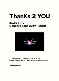 【送料無料】[枚数限定][限定版]KinKi Kids Concert Tour 2019-2020 ThanKs 2 YOU(初回盤)【Blu-ray】/KinKi Kids[Blu-ray]【返品種別A】