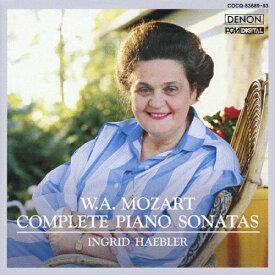 【送料無料】モーツァルト:ピアノ・ソナタ全集/ヘブラー(イングリット)[CD]【返品種別A】