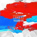 [枚数限定][限定盤]Tricolor EP(初回限定盤)/SHE'S[CD+DVD]【返品種別A】