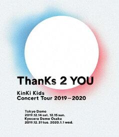 【送料無料】KinKi Kids Concert Tour 2019-2020 ThanKs 2 YOU(通常盤)【Blu-ray】/KinKi Kids[Blu-ray]【返品種別A】