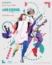 """【送料無料】angela Asia Tour 2019""""aNI-SONG""""LIVE Blu-ray/angela[Blu-ray]【返品種別A】"""
