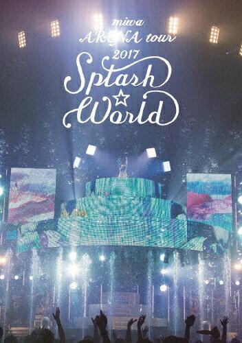 """【送料無料】[枚数限定][限定版]miwa ARENA tour 2017""""SPLASH☆WORLD""""(初回生産限定盤)/miwa[Blu-ray]【返品種別A】"""