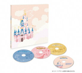 【送料無料】[枚数限定][限定版]ディズニー ミュージカル・コレクション<ブルーレイ+CD>Vol.2/アニメーション[Blu-ray]【返品種別A】