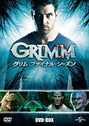 【送料無料】GRIMM/グリム ファイナル・シーズン DVD-BOX/デヴィッド・ジュントーリ[DVD]【返品種別A】