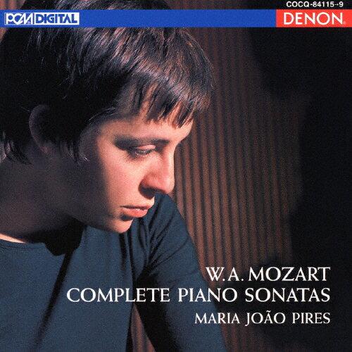 【送料無料】モーツァルト:ピアノ・ソナタ全集/ピリス(マリア・ジョアオ)[CD]【返品種別A】