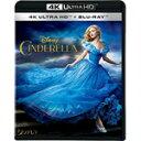 【送料無料】シンデレラ 4K UHD/リリー・ジェームズ[Blu-ray]【返品種別A】