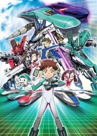 【送料無料】新幹線変形ロボ シンカリオン Blu-ray BOX3(通常版)/アニメーション[Blu-ray]【返品種別A】