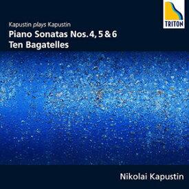 カプースチン:ピアノ・ソナタ第4、5、6番 10のバガテル/カプースチン(ニコライ)[CD]【返品種別A】