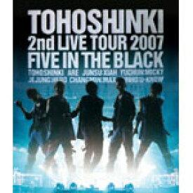 【送料無料】[枚数限定]Blu-ray Disc「東方神起 2nd LIVE TOUR 2007 〜Five in The Black〜」/東方神起[Blu-ray]【返品種別A】