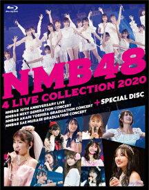 【送料無料】[先着特典付]NMB48 4 LIVE COLLECTION 2020【Blu-ray6枚組】/NMB48[Blu-ray]【返品種別A】
