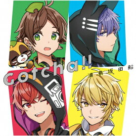 Gotcha!!/浦島坂田船[CD]通常盤【返品種別A】