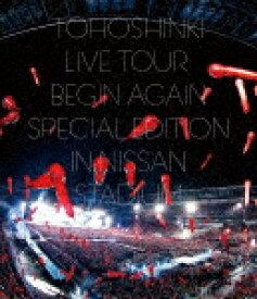 【送料無料】東方神起LIVE TOUR 〜Begin Again〜 Special Edition in NISSAN STADIUM【Blu-ray2枚組/通常盤】/東方神起[Blu-ray]【返品種別A】