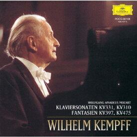 [枚数限定][限定盤]モーツァルト:ピアノ・ソナタ集/ケンプ(ヴィルヘルム)[CD]【返品種別A】