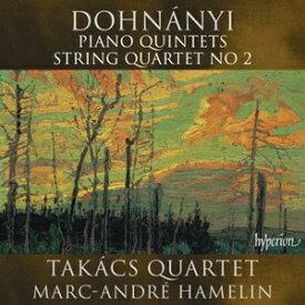 【送料無料】ドホナーニ:ピアノ五重奏曲集、弦楽四重奏曲第2番/マルク=アンドレ・アムラン(p)[CD]【返品種別A】