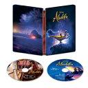 【送料無料】[枚数限定][限定版]アラジン 4K UHD MovieNEX スチールブック(数量限定)【4KUHD+Blu-ray】/メナ・マスー…