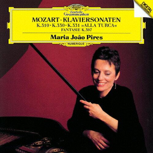 モーツァルト:ピアノ・ソナタ第8番・第10番・第11番《トルコ行進曲付》、幻想曲ニ短調K397/ピリス(マリア=ジョアオ)[SHM-CD]【返品種別A】