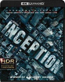 【送料無料】インセプション<4K ULTRA HD&ブルーレイセット>/レオナルド・ディカプリオ[Blu-ray]【返品種別A】