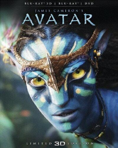 【送料無料】アバター 3Dブルーレイ&DVDセット<2枚組>/サム・ワーシントン[Blu-ray]【返品種別A】