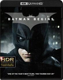 【送料無料】バットマン ビギンズ<4K ULTRA HD&ブルーレイセット>/クリスチャン・ベール[Blu-ray]【返品種別A】