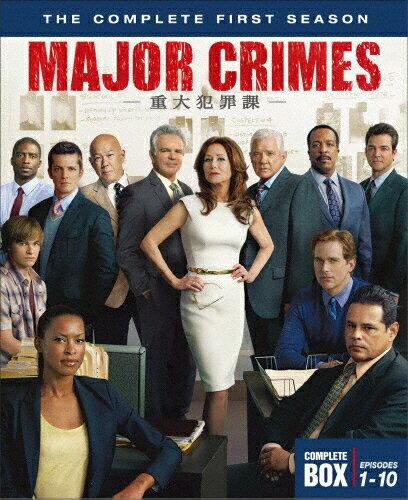 MAJOR CRIMES 〜重大犯罪課〈ファースト・シーズン〉/メアリー・マクドネル[DVD]【返品種別A】