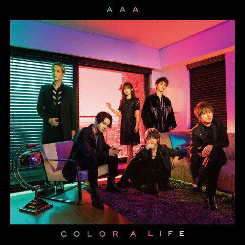 【送料無料】[限定盤]COLOR A LIFE(初回生産限定盤/CD+DVD)/AAA[CD+DVD]【返品種別A】