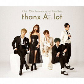 【送料無料】AAA 15th Anniversary All Time Best -thanx AAA lot-(通常盤)/AAA[CD]【返品種別A】