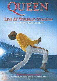 【送料無料】ライヴ・アット・ウェンブリー・スタジアム<25周年記念スタンダード・エディション>/クイーン[DVD]【返品種別A】