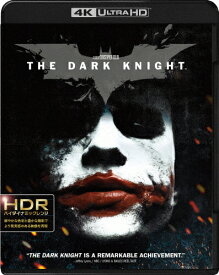 【送料無料】ダークナイト<4K ULTRA HD&ブルーレイセット>/クリスチャン・ベール[Blu-ray]【返品種別A】
