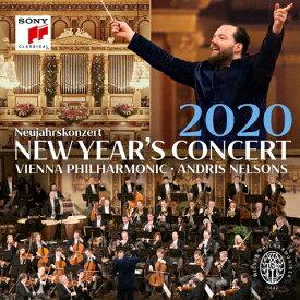 【送料無料】ニューイヤー・コンサート2020/アンドリス・ネルソンス&ウィーン・フィルハーモニー管弦楽団[Blu-ray]【返品種別A】
