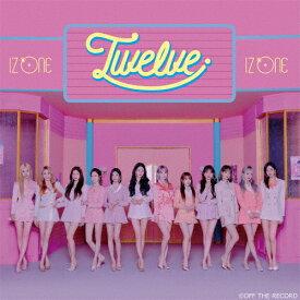 【送料無料】[初回仕様]Twelve(Type A)/IZ*ONE[CD+DVD]【返品種別A】