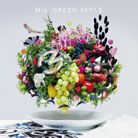 【送料無料】[限定盤]5(初回限定盤)/Mrs.GREEN APPLE[CD+DVD]【返品種別A】