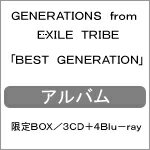 【送料無料】[限定盤][先着特典付き]BEST GENERATION(限定BOX/3CD+4Blu-ray)/GENERATIONS from EXILE TRIBE[CD+Blu-ray]【返品種別A】