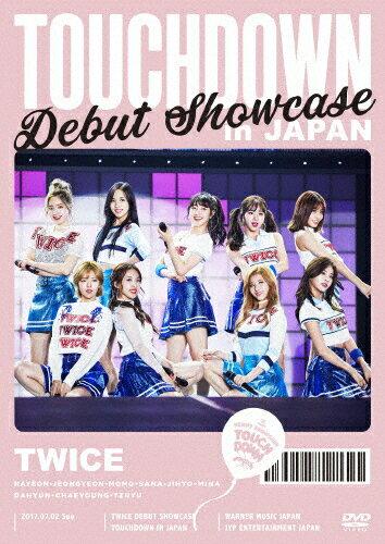 """【送料無料】TWICE DEBUT SHOWCASE""""Touchdown in JAPAN""""/TWICE[DVD]【返品種別A】"""