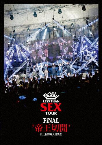 """【送料無料】Less Than SEX TOUR FiNAL""""帝王切開""""日比谷野外大音楽堂/BiSH[DVD]【返品種別A】"""