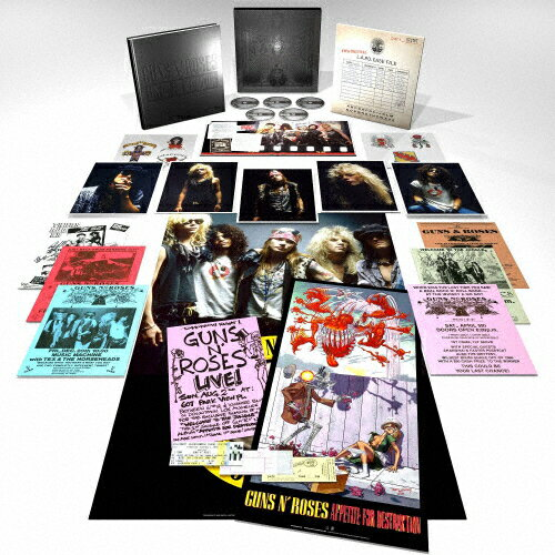 【送料無料】[枚数限定][限定盤]アペタイト・フォー・ディストラクション<スーパー・デラックス・エディション>/ガンズ・アンド・ローゼズ[SHM-CD+Blu-ray]【返品種別A】