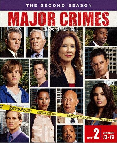 MAJOR CRIMES 〜重大犯罪課〈セカンド・シーズン〉 後半セット/メアリー・マクドネル[DVD]【返品種別A】