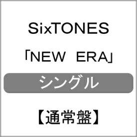 [先着特典付]NEW ERA(通常盤)[初回仕様]/SixTONES[CD]【返品種別A】