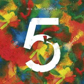【送料無料】[枚数限定][限定盤]5 COMPLETE BOX/Mrs.GREEN APPLE[CD+DVD]【返品種別A】