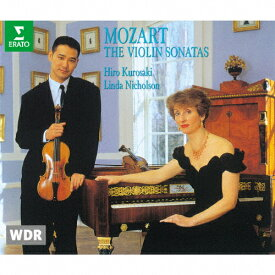 【送料無料】モーツァルト:ヴァイオリン・ソナタ集(全16曲)/ヒロ・クロサキ[CD]【返品種別A】